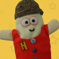 Friendly Henry Handpuppet